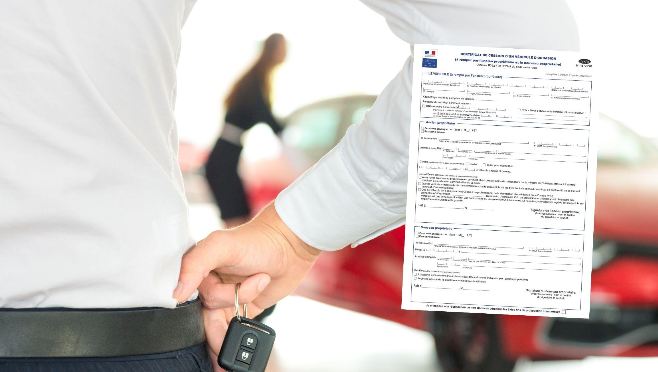 Certificat de cession non enregistré