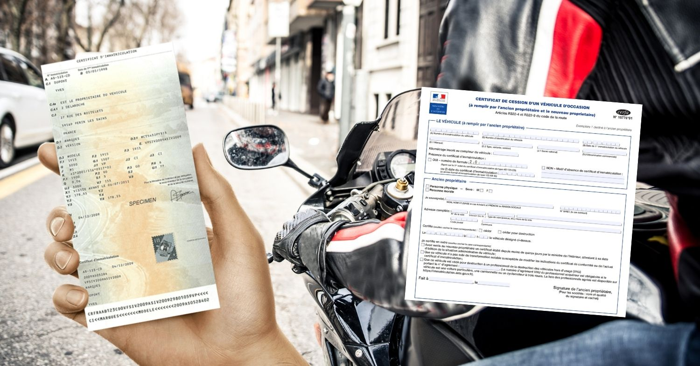 démarches vente moto