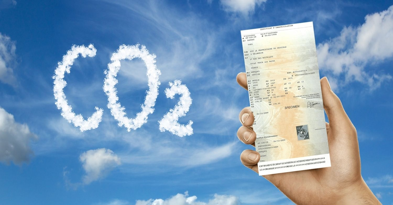 Taux d'émission CO2 carte grise