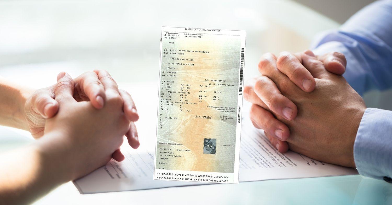 Faire carte grise suite à un mariage, un divorce ou un décès
