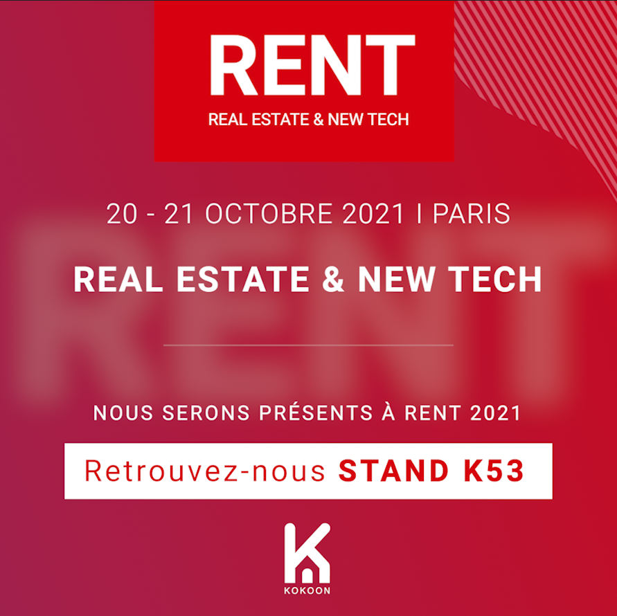 Venez nous rencontrer au salon RENT le 20 et 21 octobre !