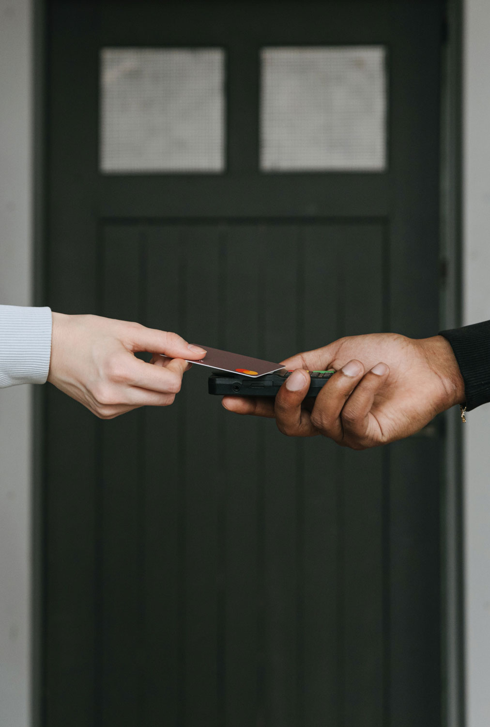 Transaction by card