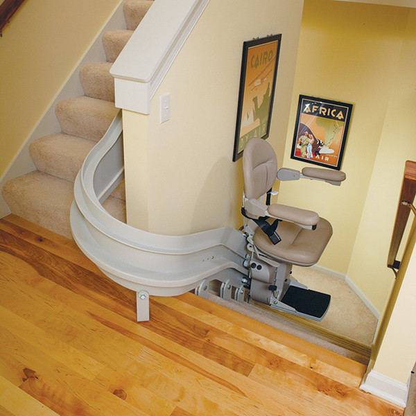 Bruno Indoor Curved Stairlift