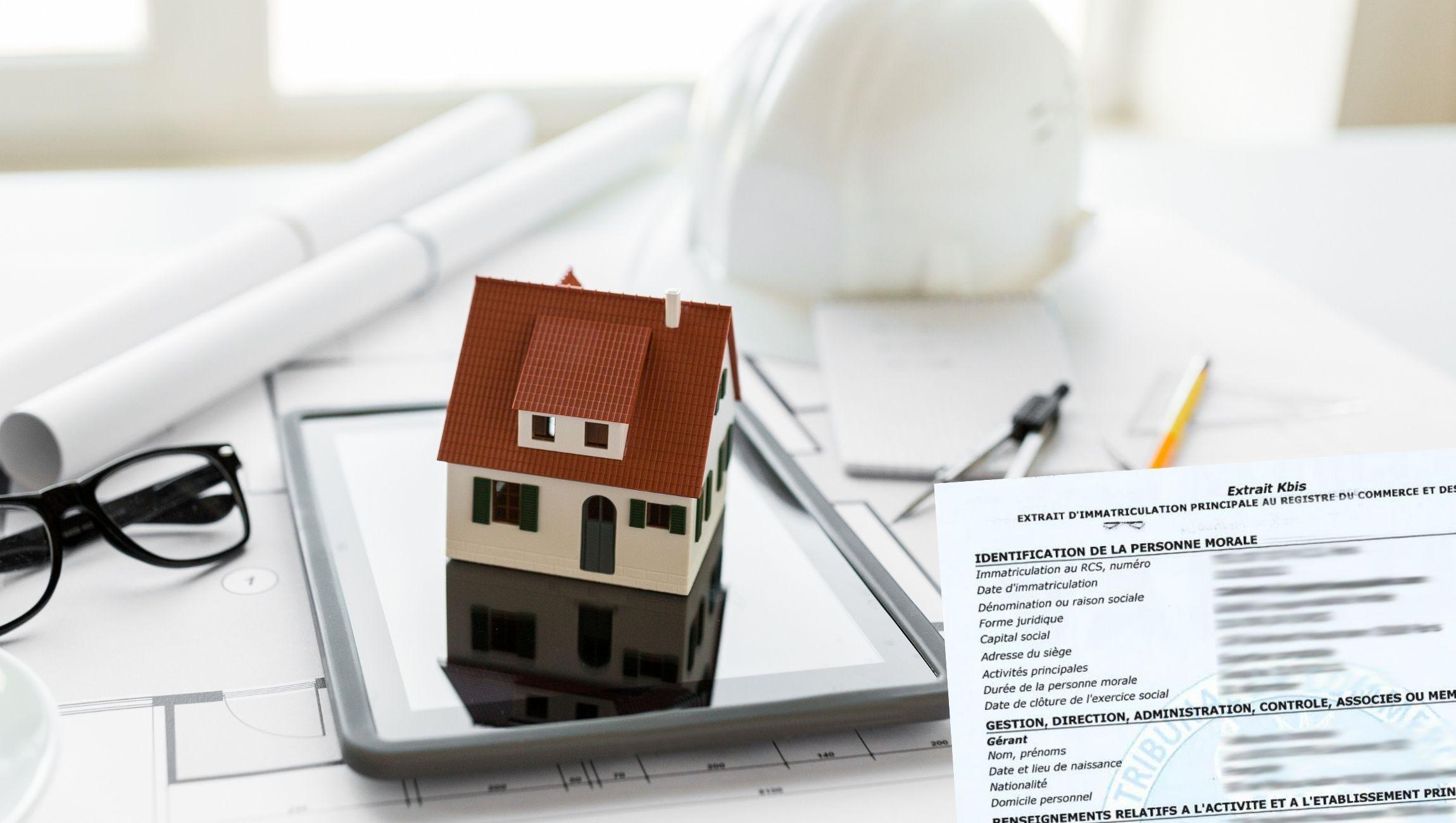 Extrait KBIS SCI société civile immobilière