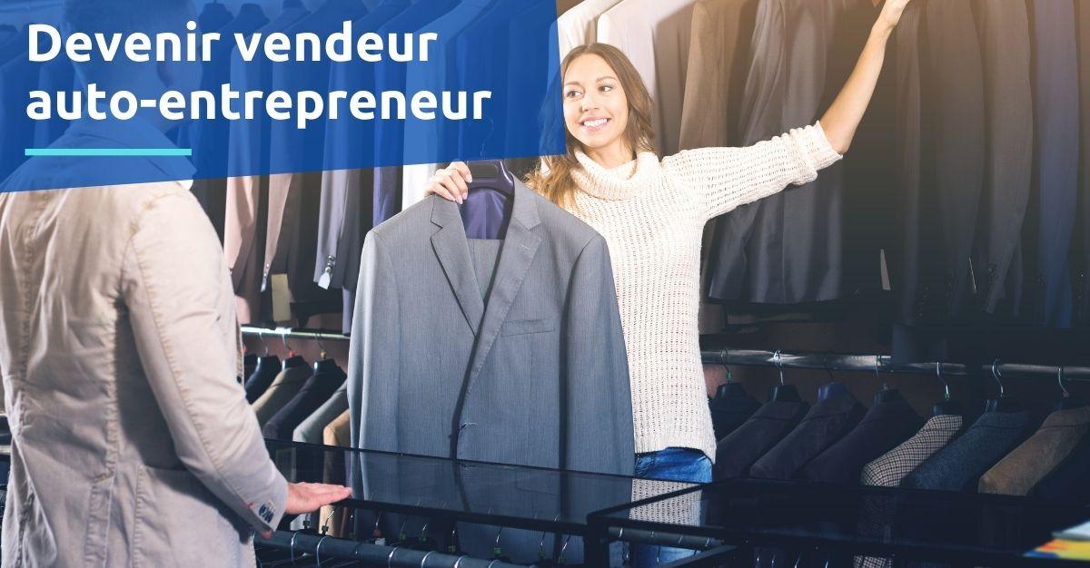 devenir vendeuse auto-entrepreneur