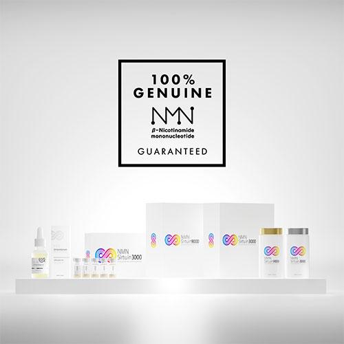 NMN Sirtuin(エヌエムエヌサーチュイン)100%本物のNMN、メイン画像