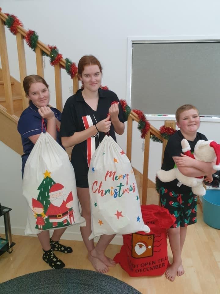 Santa Sack for rural kids