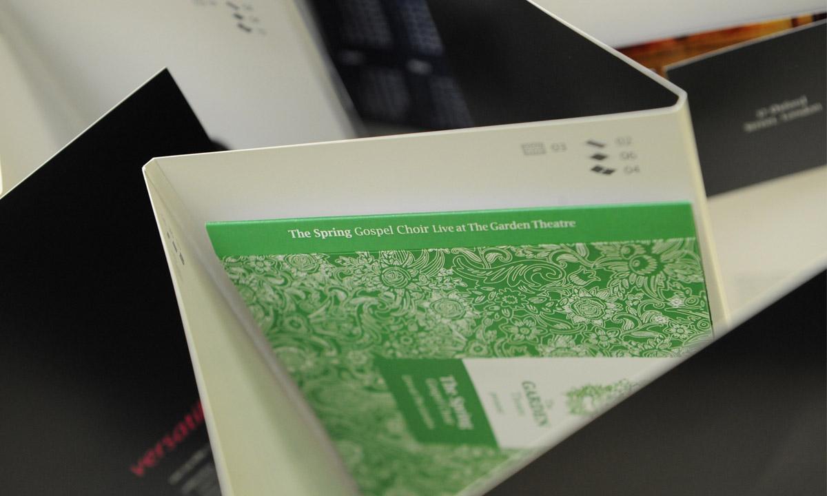Examples of printed work