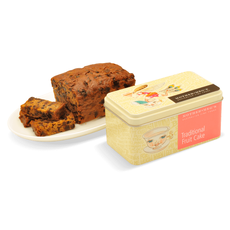 Traditional Fruit Cake Gift Tin 450g