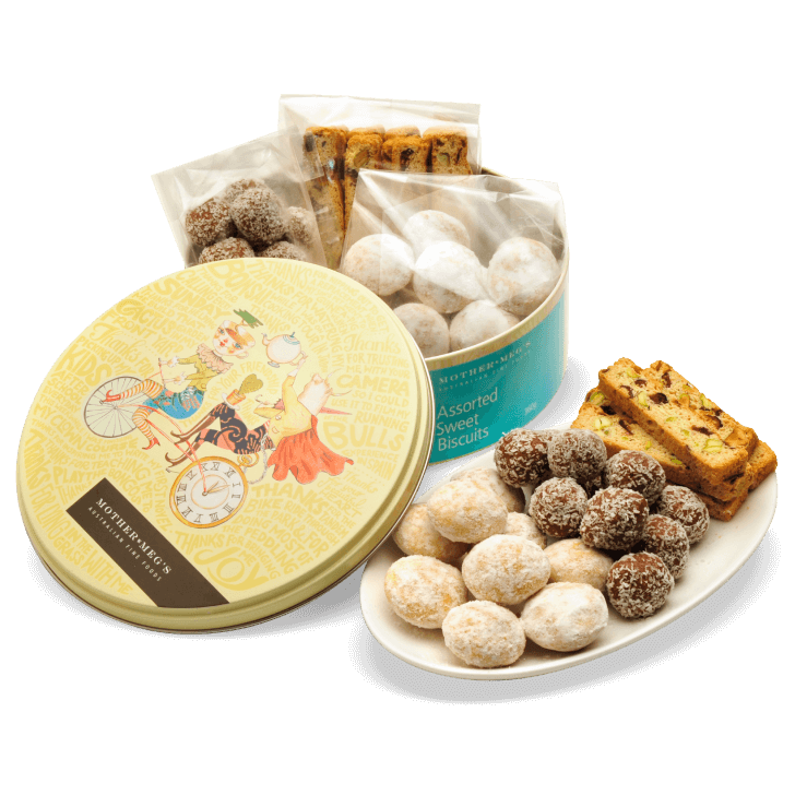 Assorted Sweet Biscuit Tin
