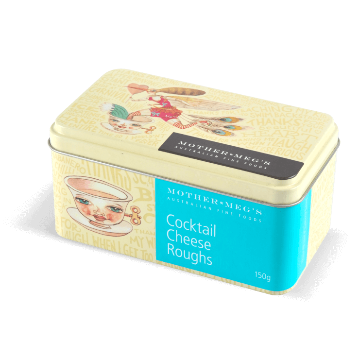 Cocktail Cheese Roughs Gift Tin