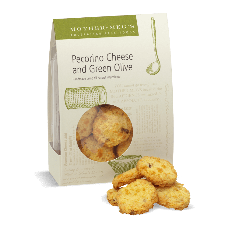 Pecorino Cheese & Green Olive Biscuits