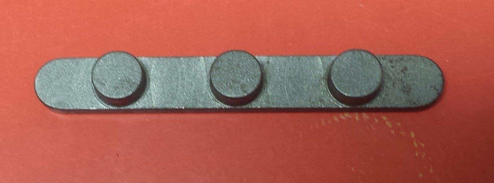 KEYWAY 3 PEG 8 x 60 x 17mm CENTERS KZ