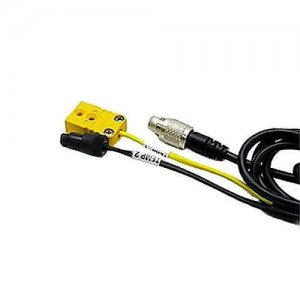 Mychron 2T Patch Lead Yellow TC Plug & Black TR Plug