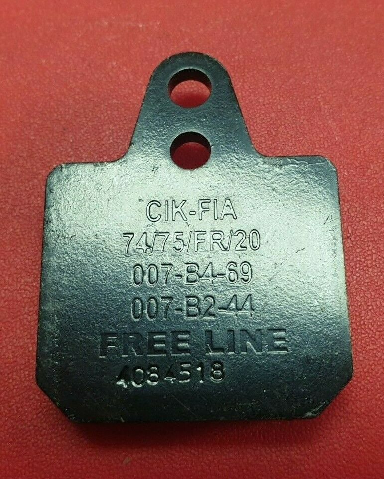 KZ FREELINE BRAKE PADS REAR X 4 BIREL RICCARDO CHARLES LECLERC