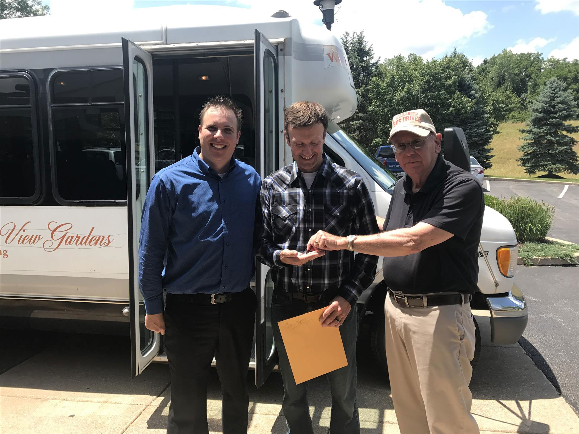 Autumn View Gardens Donates Bus to Church in Need