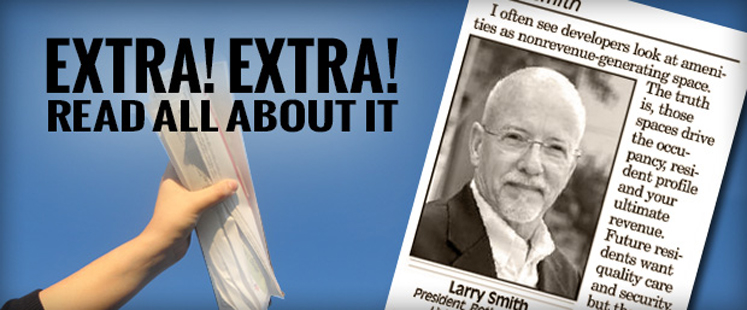 President, Larry Smith, Featured in Colorado Real Estate Journal
