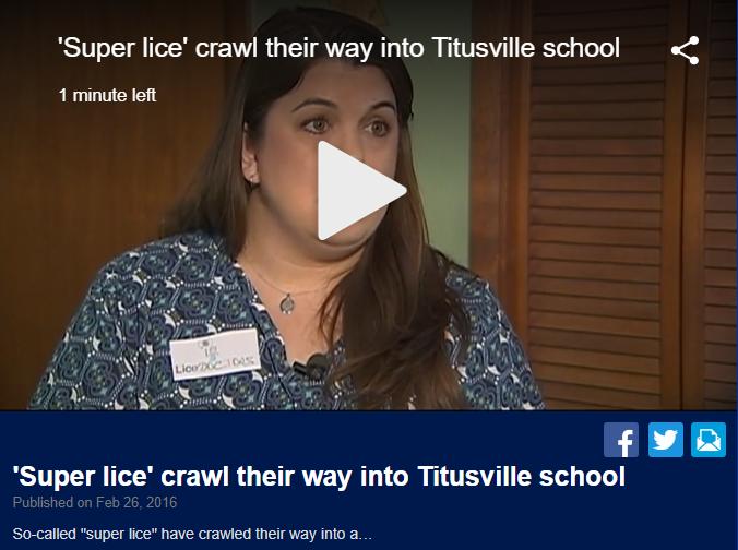 Super Lice Invade Florida Schools
