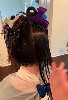 lice remove oil comb nit head