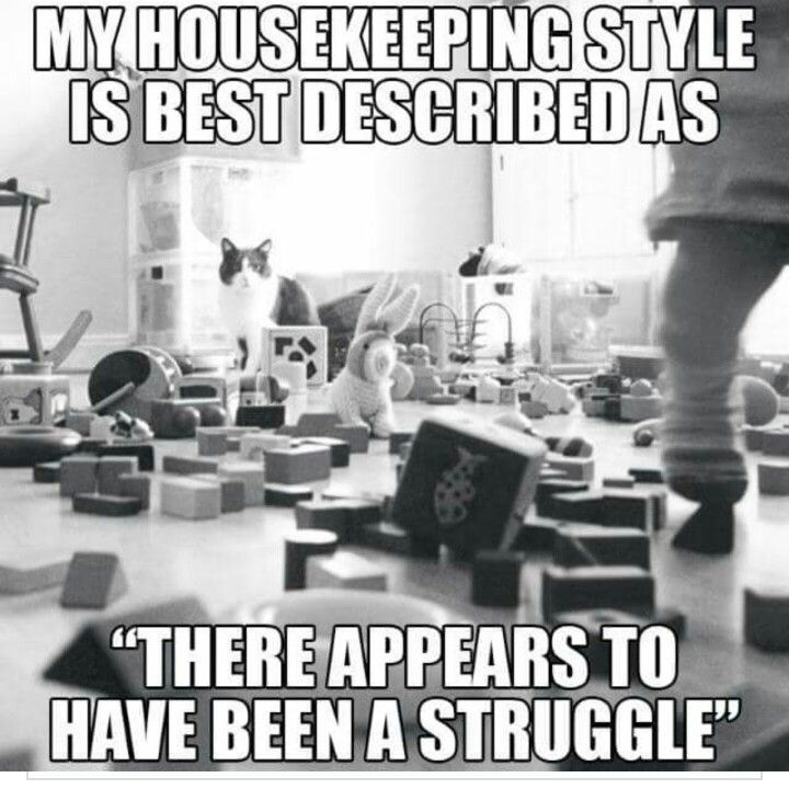 Messy house meme text THERE APPEARS TO HAVE BEEN A STRUGGLE