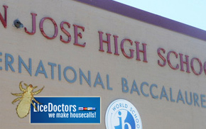 San Jose High School Lice Information