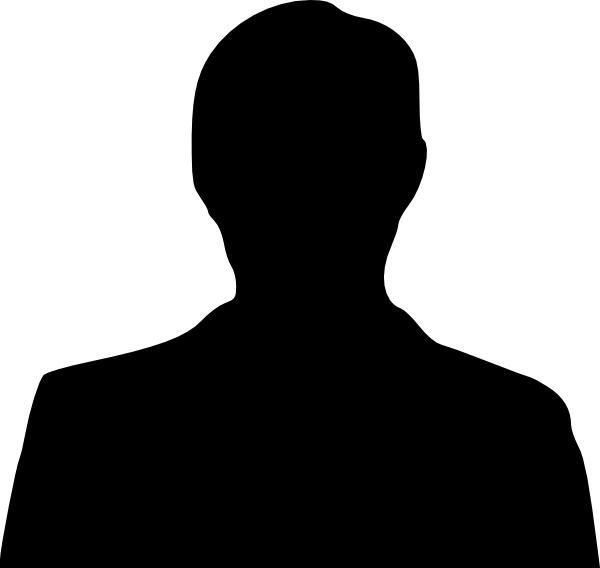 Man silhouett icon