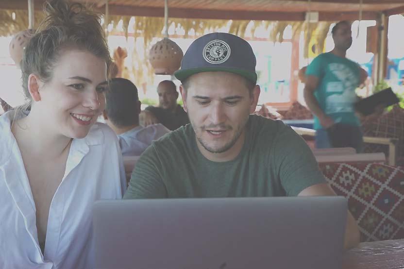 Foto Teilnehmer Super StartUp Adventure Camp Dahab