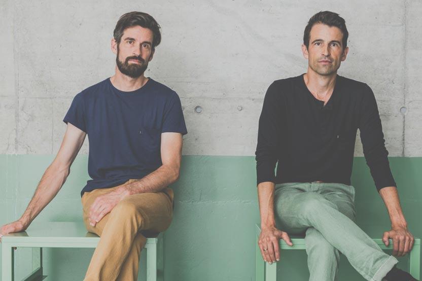 Foto Daniel und Markus Freitag
