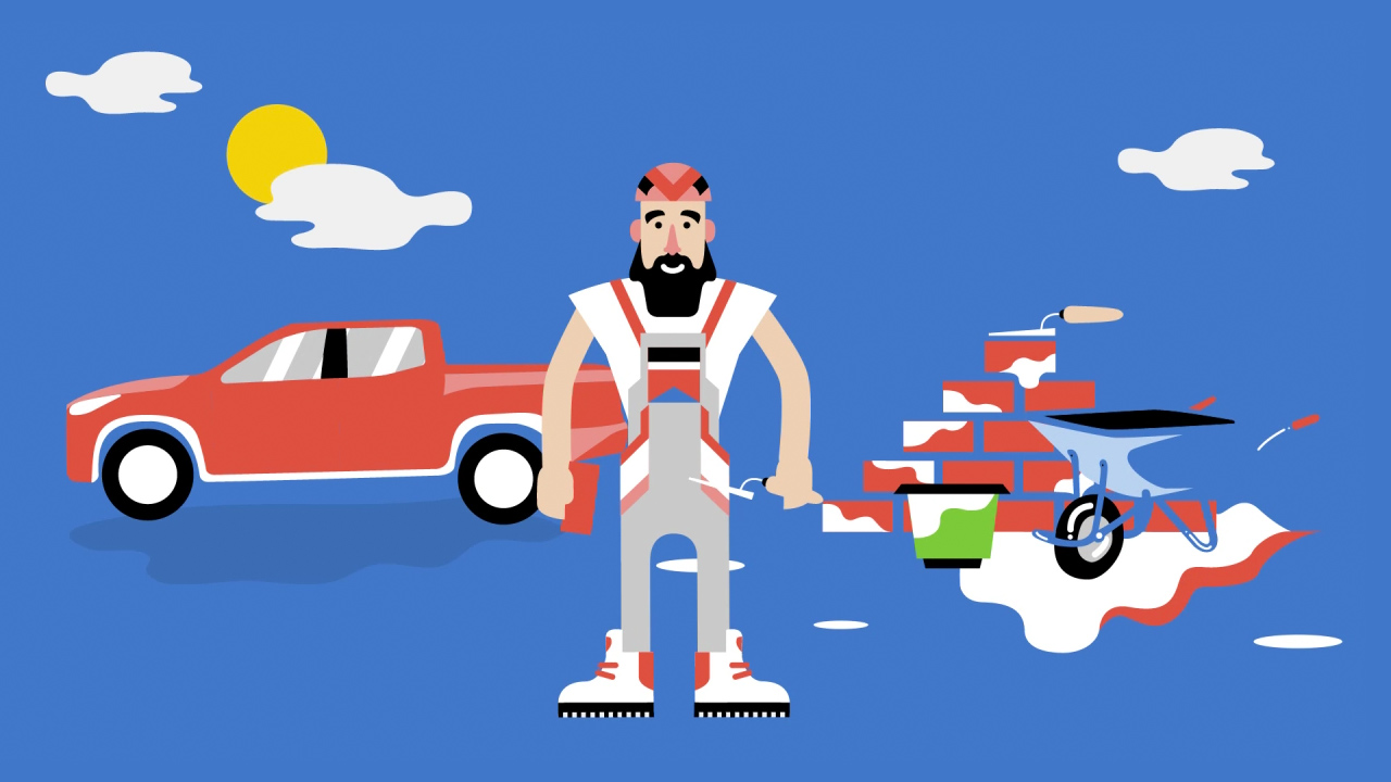 Illustration Kfz-Mechaniker
