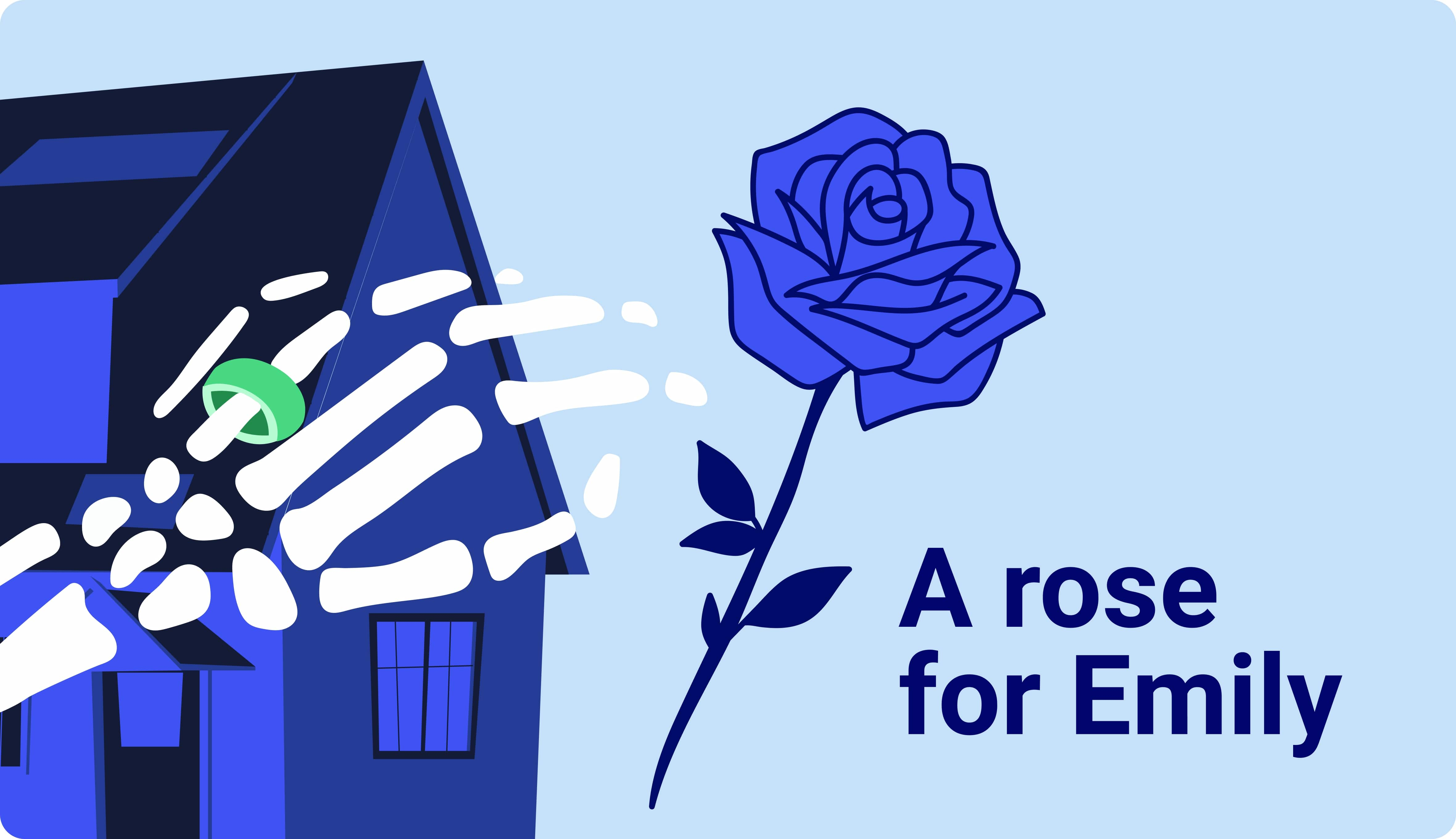 """""""A Rose For Emily� Summary"""