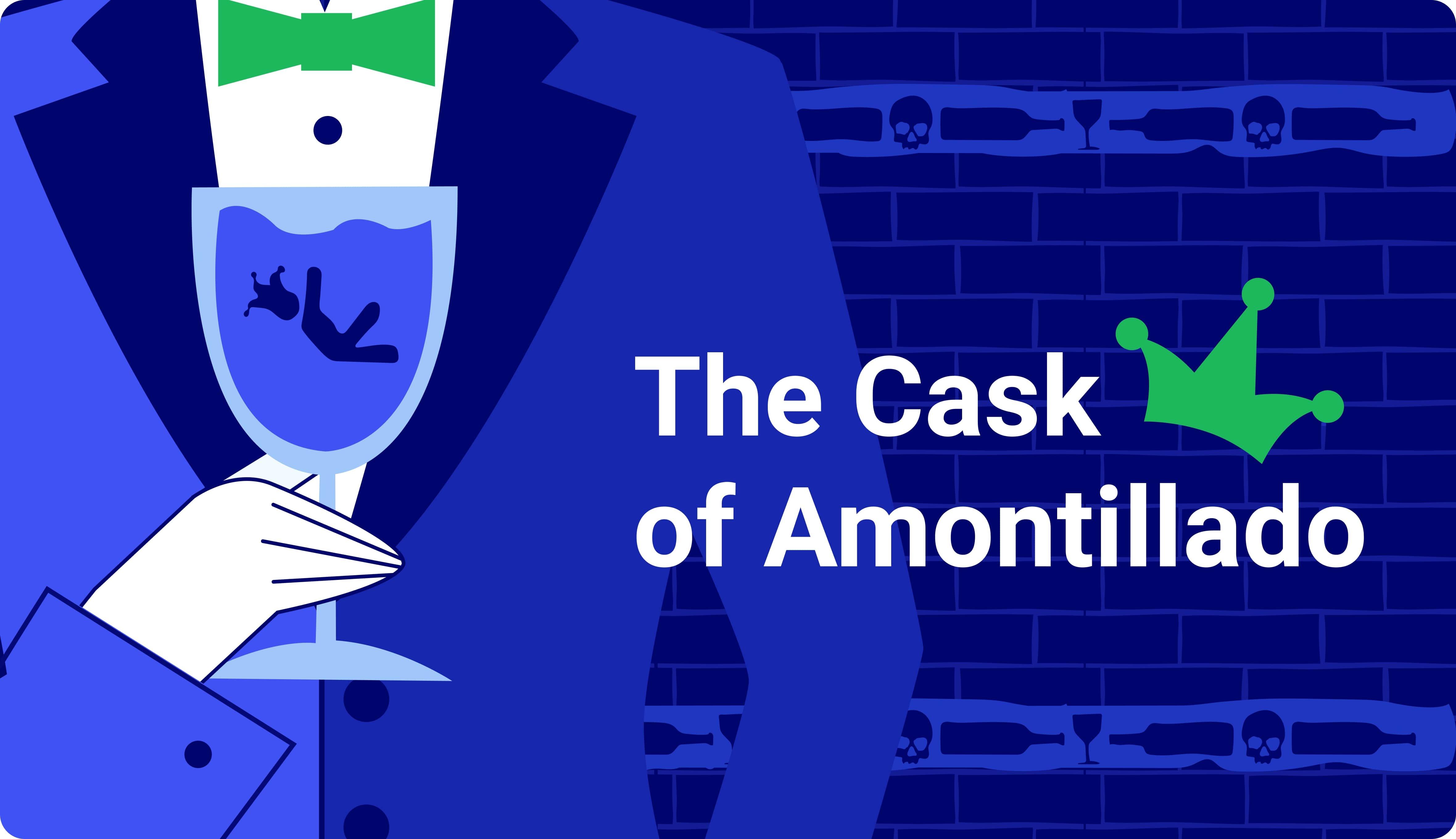 """""""The Cask of Amontillado� Summary"""