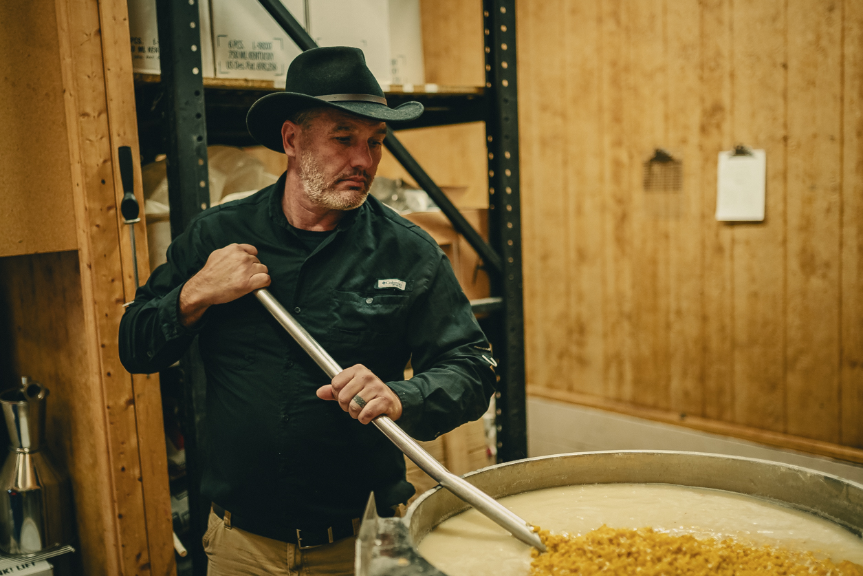 bootleggers distillery darrell Miller making home made moonshine authentically tradition