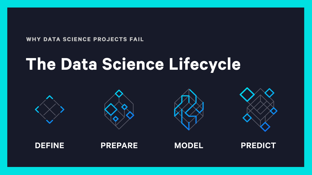 The data science lifecycle and why projects fail