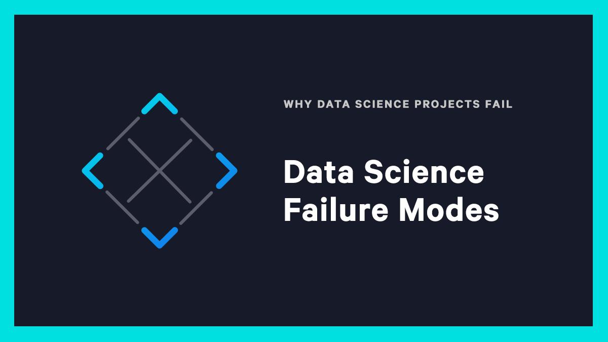Data Science Failure Modes