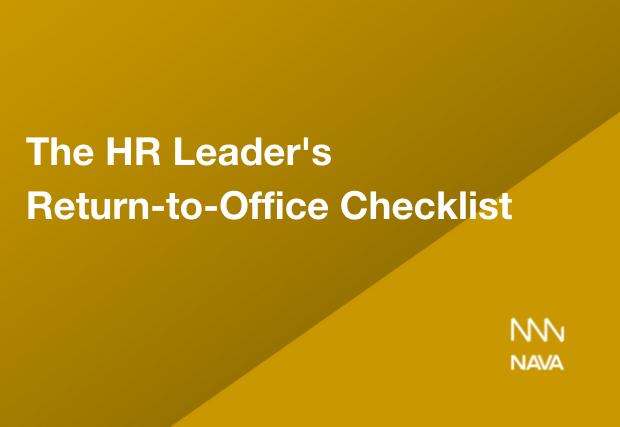 The HR Leader's Return-to-Office Checklist