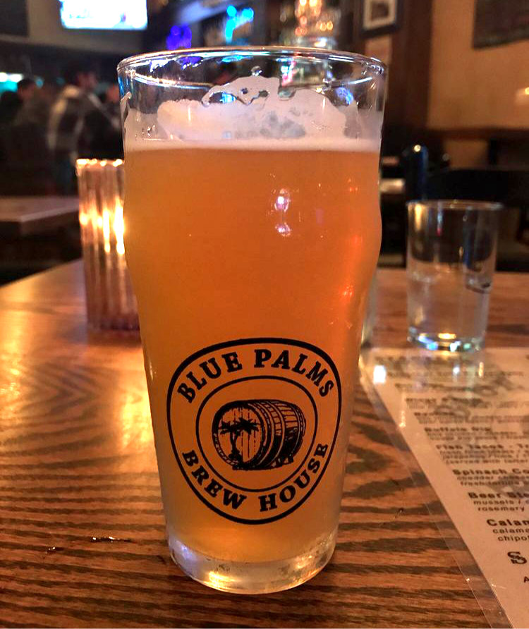 Blue Palms Beer