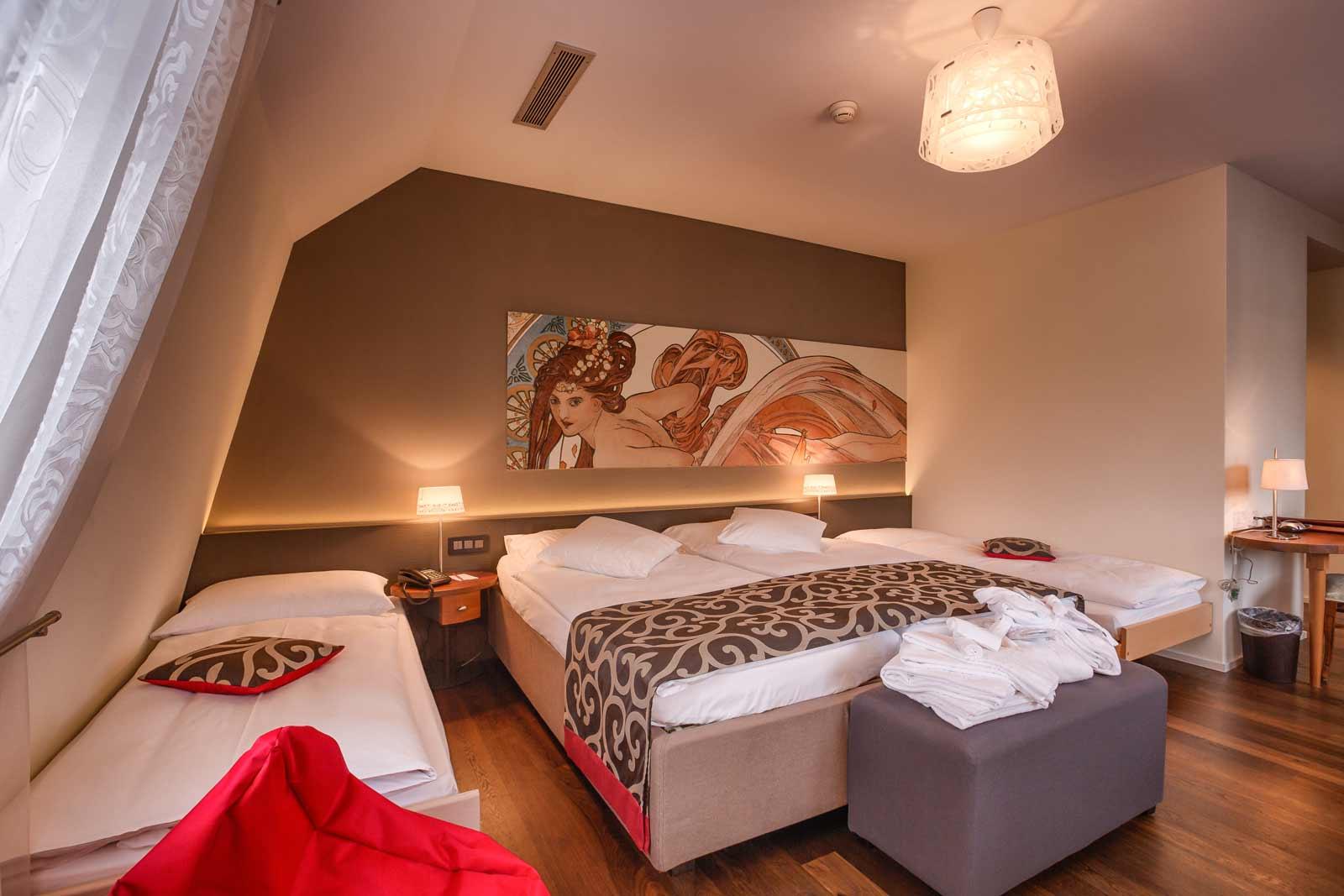 Hotelzimmer im Belle Époque Stil
