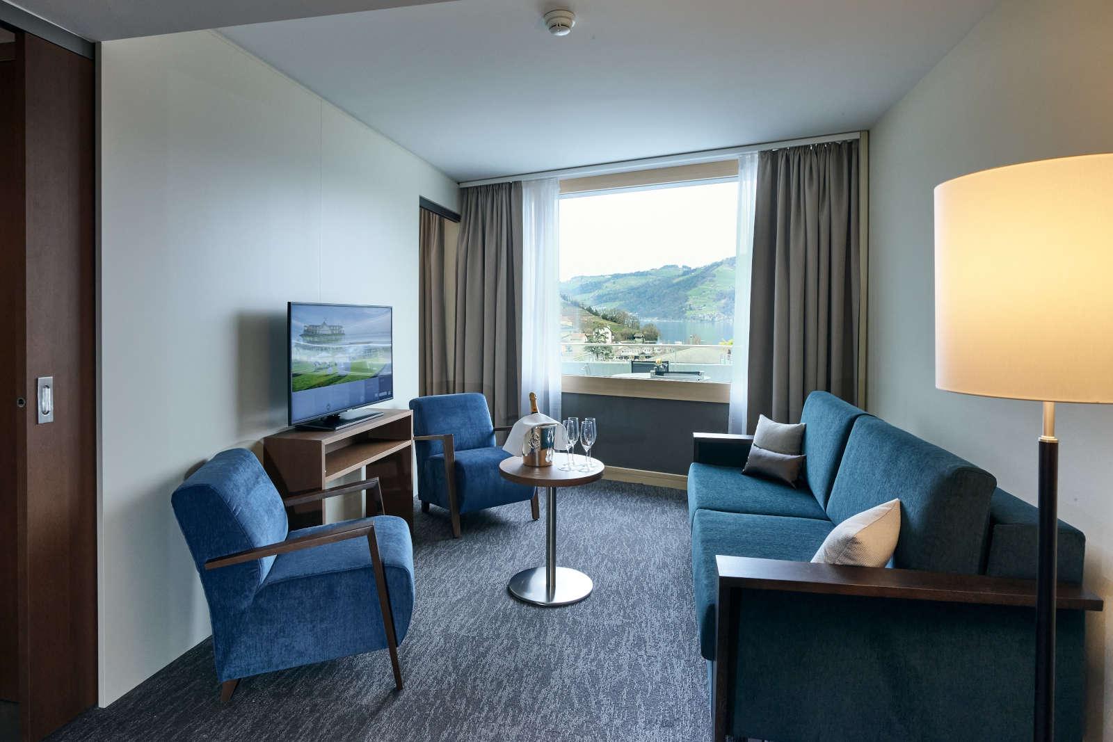 Modernes Hotelzimmer