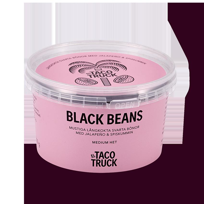 Burk med Black Beans från El Taco Truck