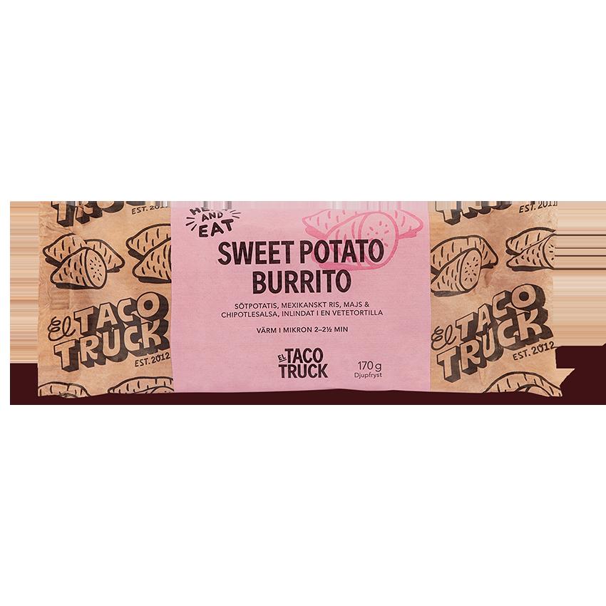 Sweet Potato Burrito från El Taco Truck