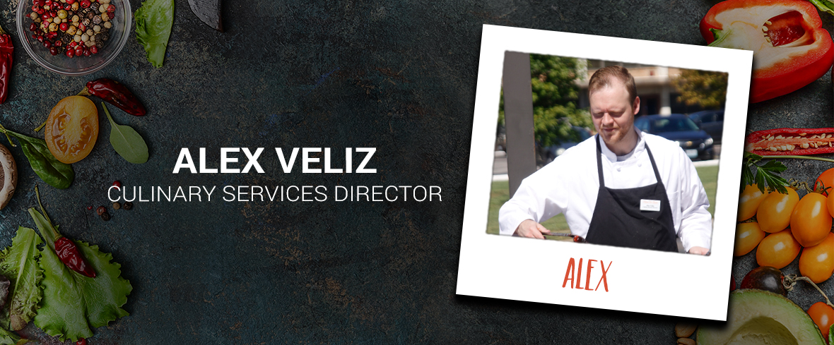Meet Chef Alex Veliz and Mark Your Calendars for Our Culinary Event