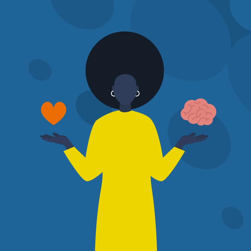 Keuzestress, vanuit het hart of vanuit je brein