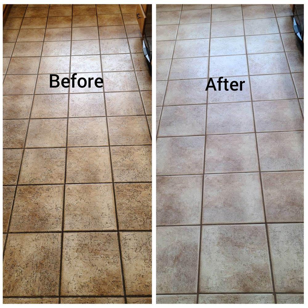 Tile floor cleaning in San Diego, CA