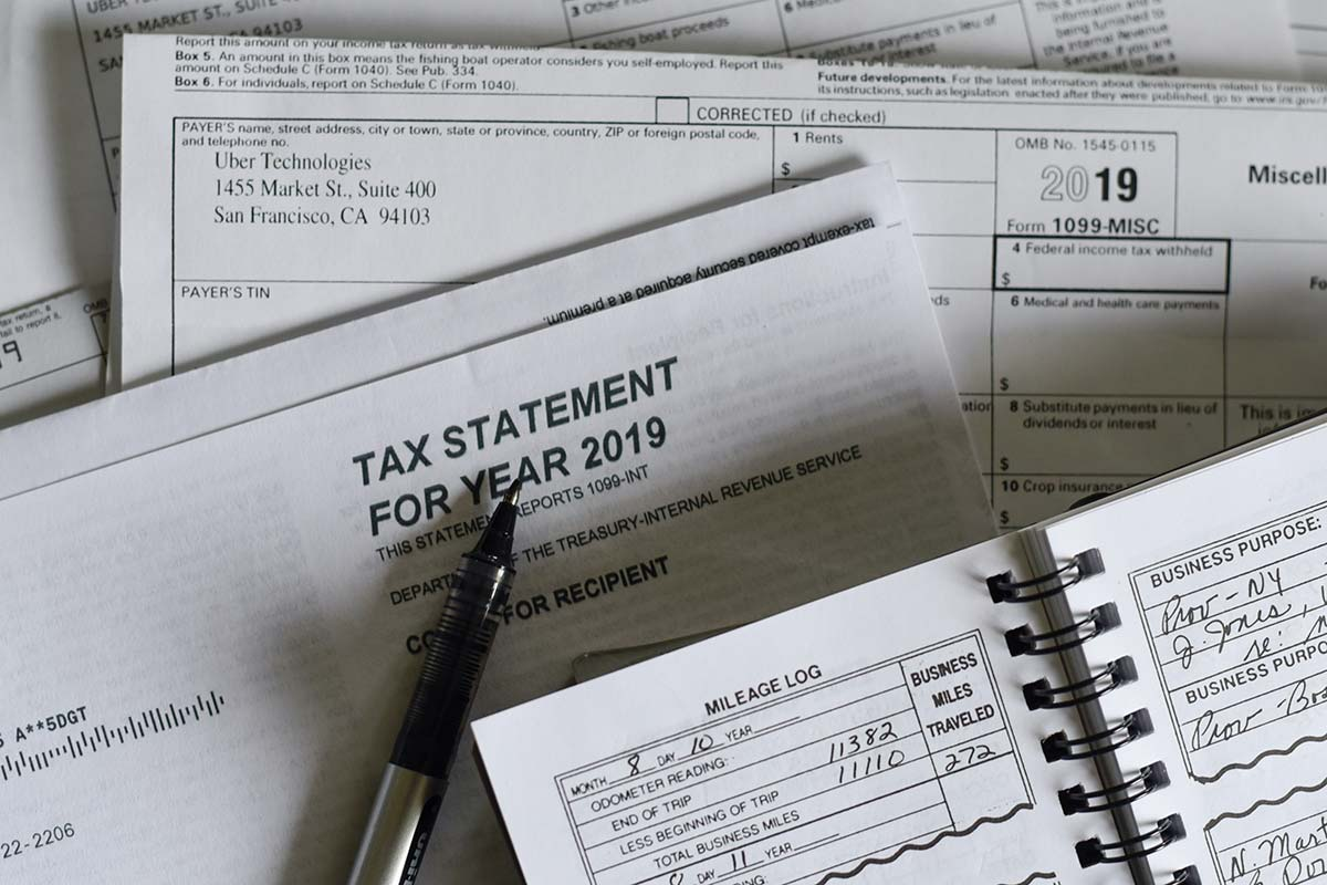Image of a Tax Statement for year 2019