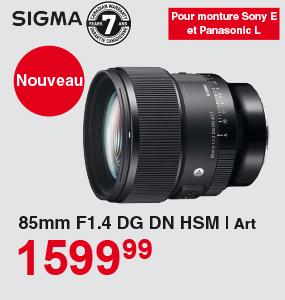 Sigma 85mm F1.4 DG DN HSM