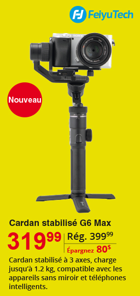 Stabilized Gimbal G6 Max