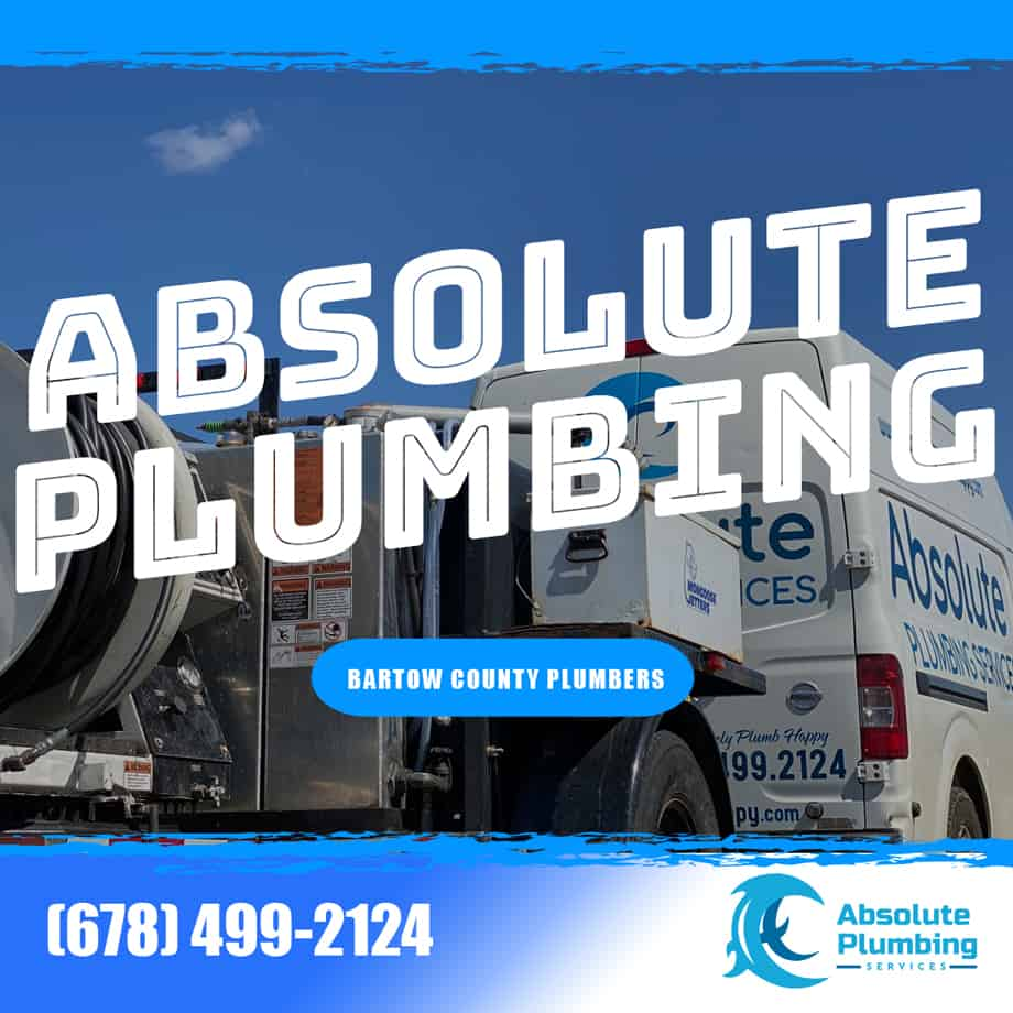 Absolute Plumbing Services is your trusted plumber in Bartow County since 2008.