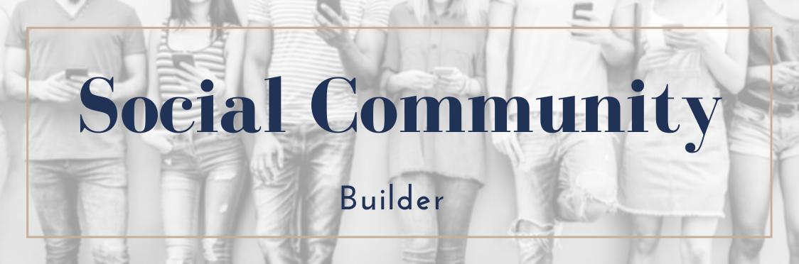Social Community Expansion