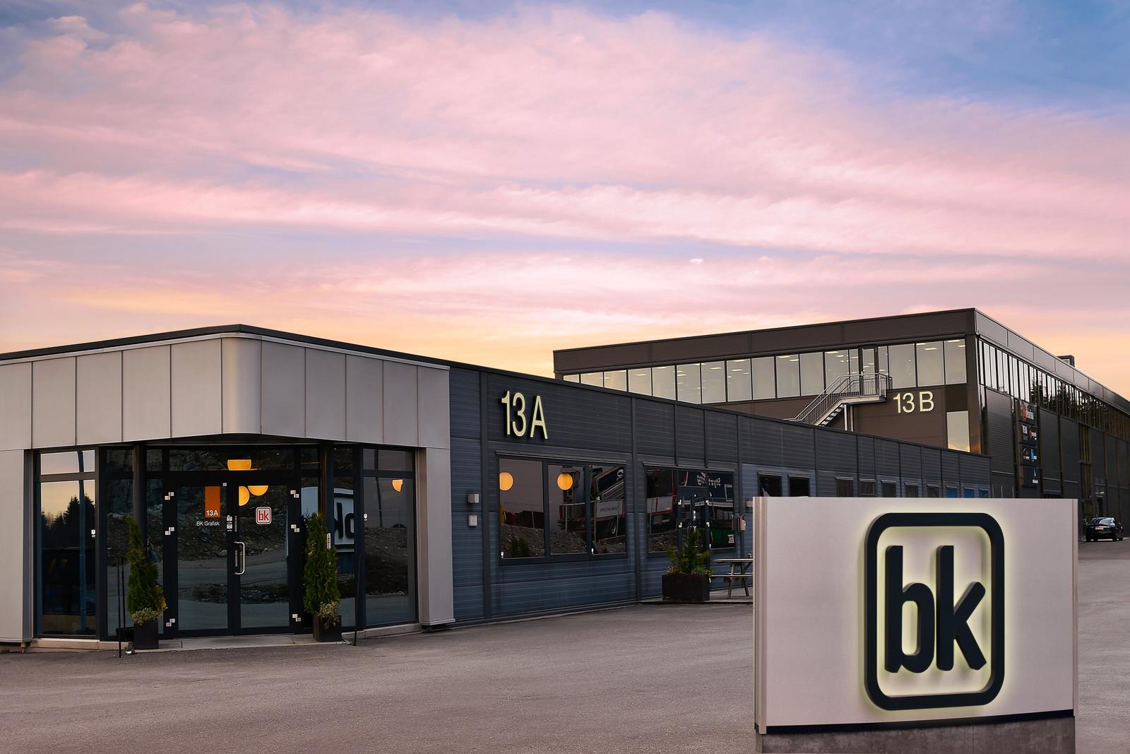 BK kontorbygg fasade