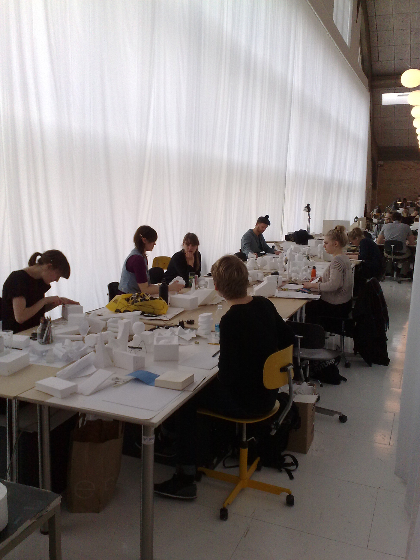 Teaching at Denmarks Design School 2005-2014